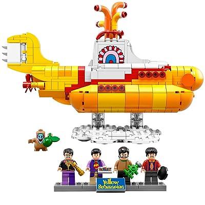 LEGO Ideas 21306 Yellow Submarine Building Kit: Toys & Games