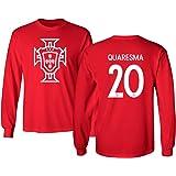 e8e2af39819 Tcamp Portugal 2018 National Soccer #20 Ricardo QUARESMA World Championship  Men's Long Sleeve T-