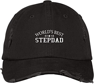 Worlds Best Stepfather Baseball Cap Gift for Stepfather Stepfather Hat Stepfather Baseball Hat Gift for Dad