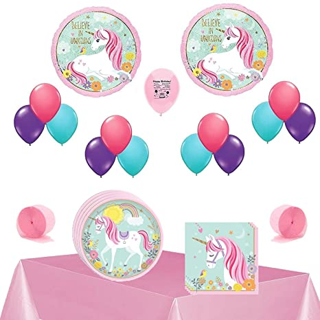 Amazoncom Magical Unicorn Party Supplies Believe In Unicorns