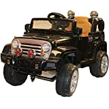 Brunte Battery Operated Remote Controlled Jeep with Led Light