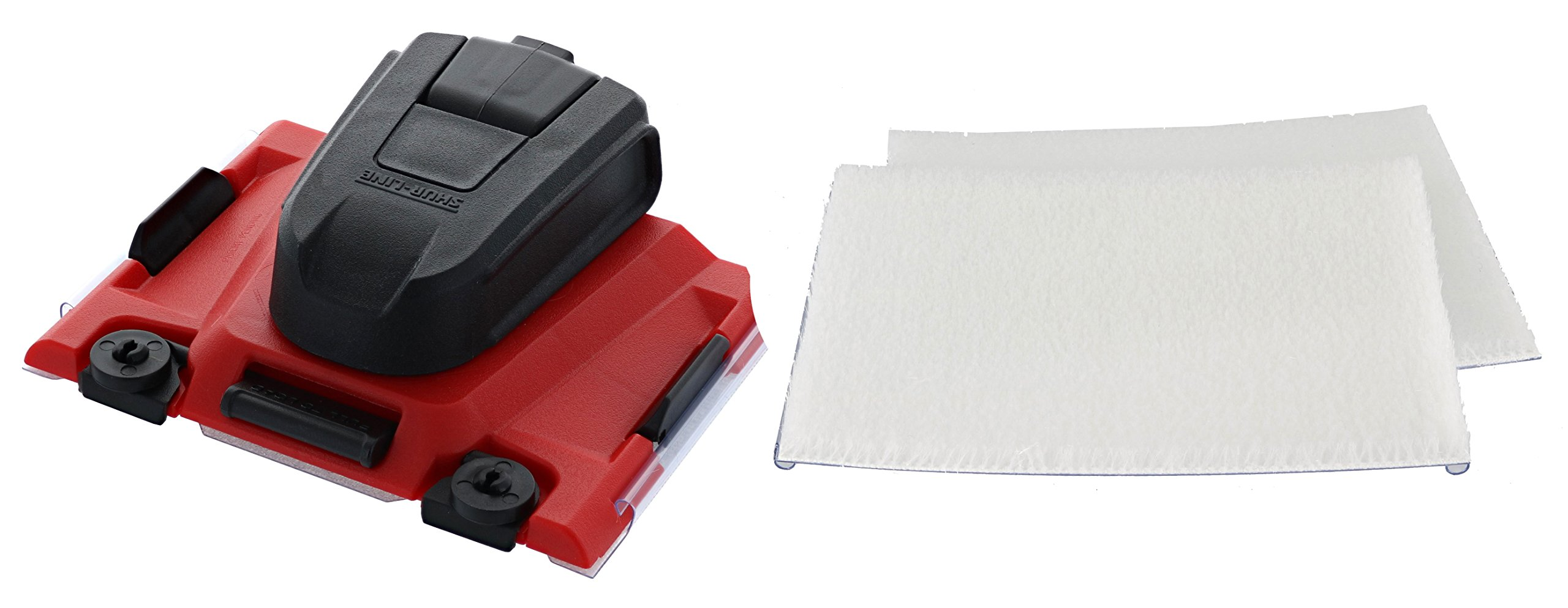 Shur-Line 2006561 Paint Edger Pro with Two Pack of 2001044 Painter's Pad Refills by SHUR-LINE