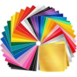 bb3be23d0 Adhesive Vinyl Sheets - 50 Pack 12'' X 12'' Premium Permanent Self
