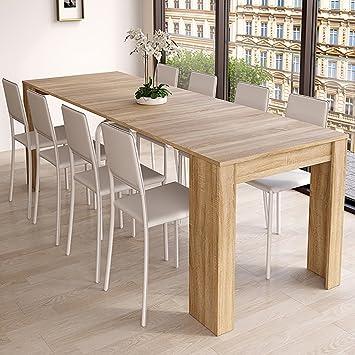 Salle À F Extensible Table 004581 Habitdesign De Manger Console VLqUzpGSM