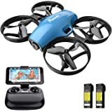Drone with Camera for Kids, Potensic A30W RC Mini Quadcopter with 720P HD Camera, One Button Take Off/Landing, Route…