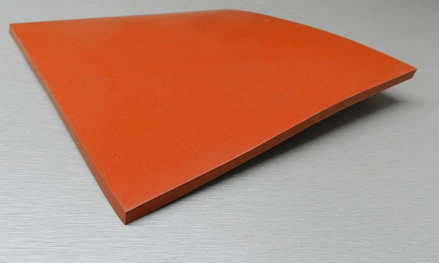 """High Temp FDA 36/"""" x 36/"""" Gray Silicone Rubber Sheet 1//4/"""" thick 60 durometer"""