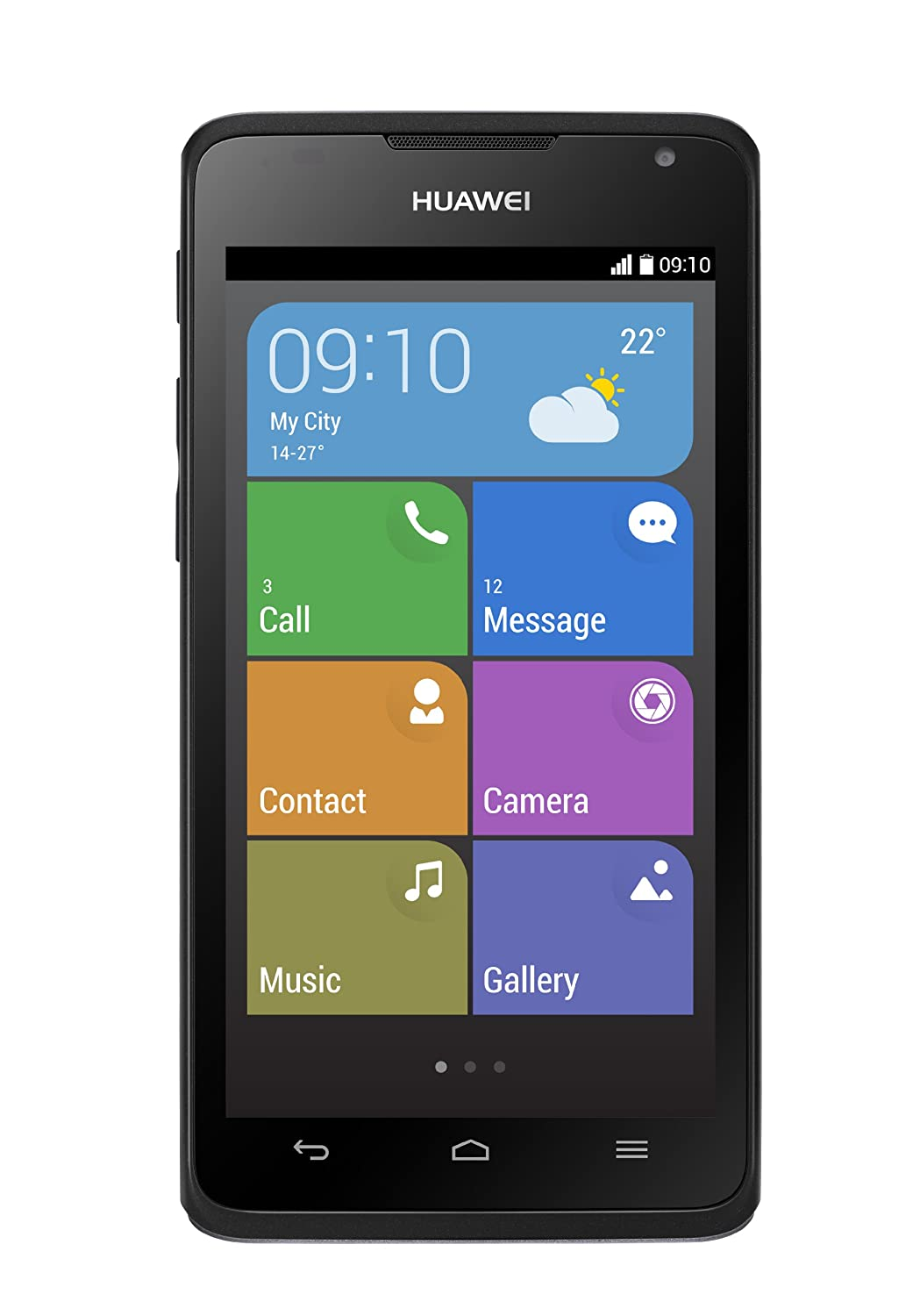 Huawei Ascend Y530 Sim Free Smartphone (Genuine UK Stock) 4 5 inch, 1 2GHz  Dual Core, 5mp Camera, MicroSD up to 32GB - Black