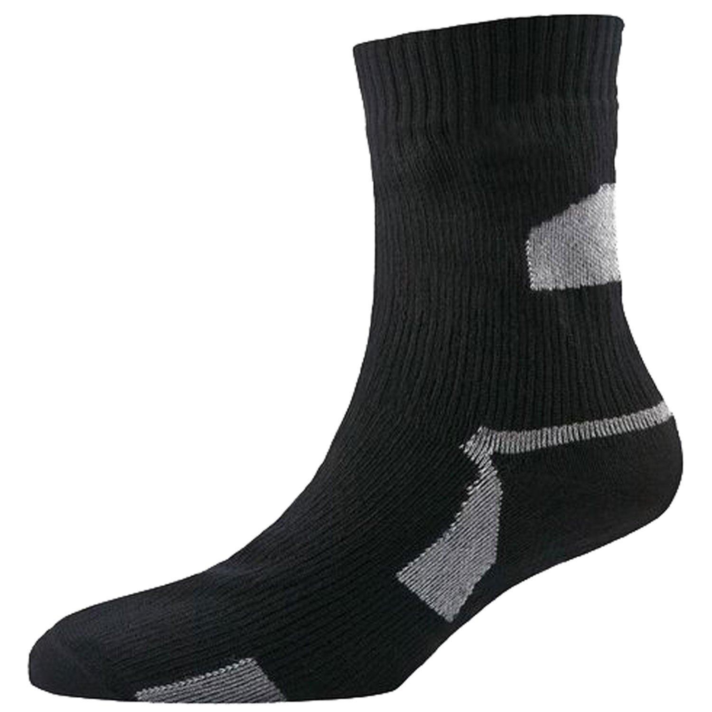 da20ae7ba Sealskinz Thin Ankle Length Socks-Black-L  Amazon.co.uk  Sports   Outdoors
