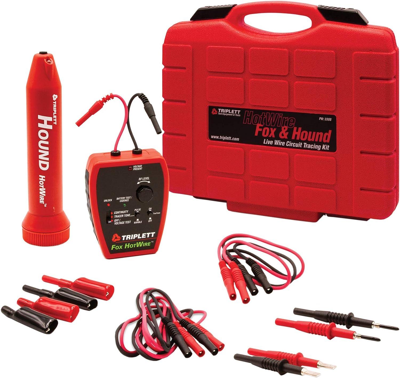 Triplett 3388 Fox Max 45% OFF Hound HotWire and Tone 2021 Probe Wire Live