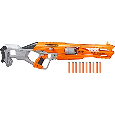 Nerf N-Strike Elite AccuStrike Series AlphaHawk: Toys & Games