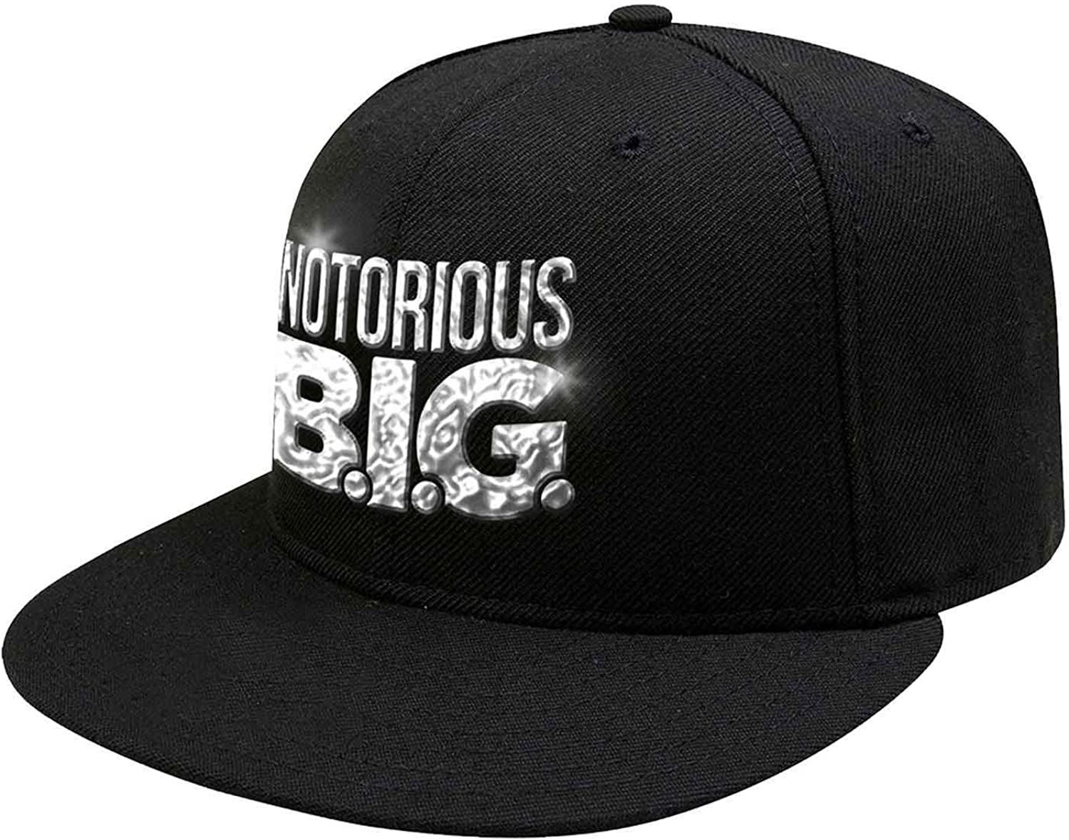 Biggie Smalls Baseball Cap Sonic Silver Logo Official Black Snapback