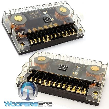 amazon com qxd 216 mb quart q series passive crossovers made in rh amazon com 4 Channel Amp Install Rockford Fosgate Amp Wiring Diagram