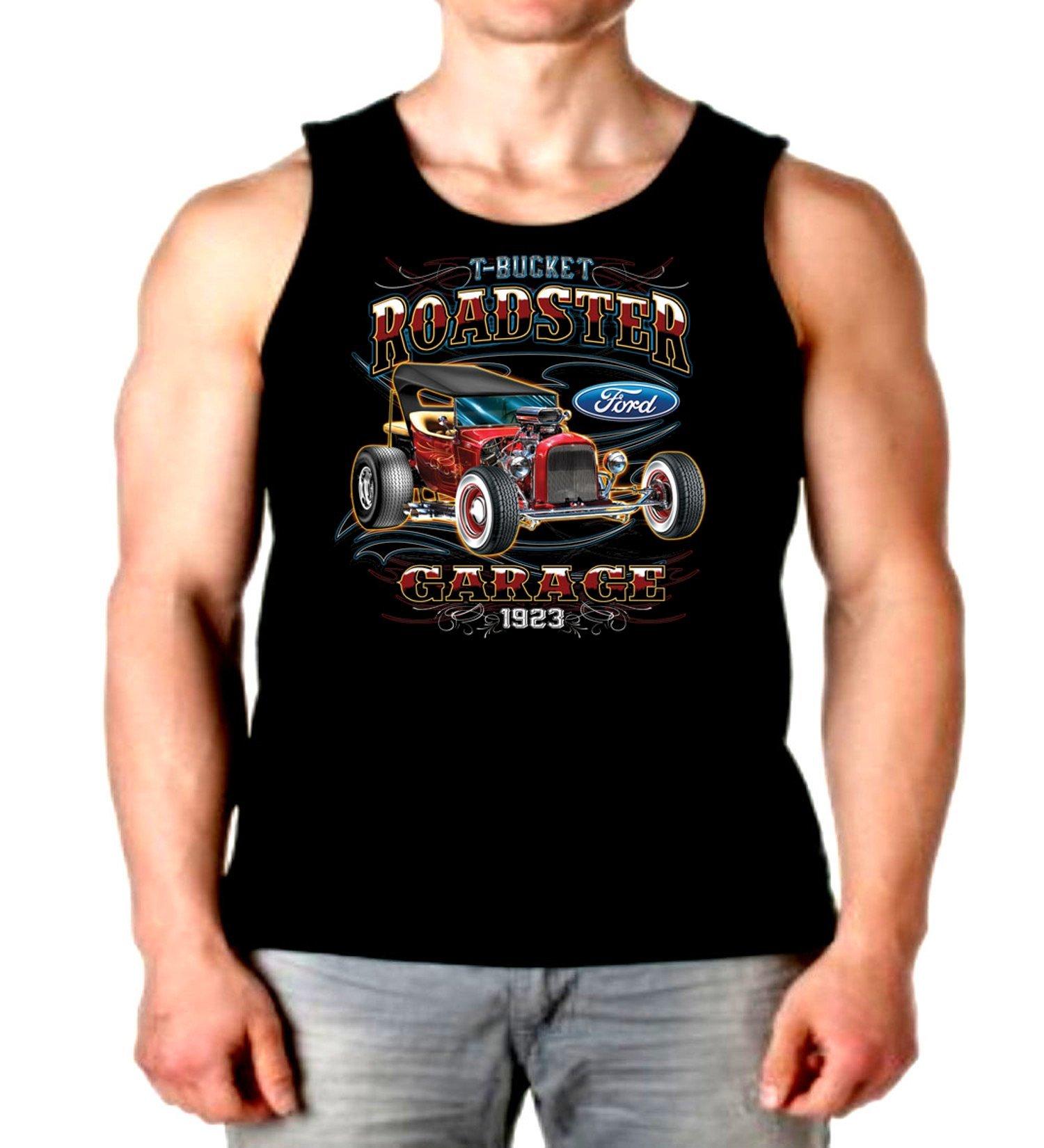 Tank Top T Bucket Roadster Garage S Muscle Shirt S 2 6920
