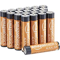 Deals on 20-pk AmazonBasics AAA 1.5 Volt Performance Alkaline Batteries