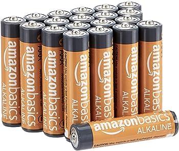 20-Pack AmazonBasics AAA Performance 1.5V Alkaline Batteries
