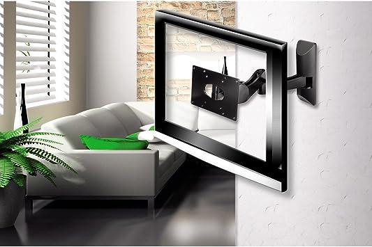 Hama Fullmotion - Soporte de pared para TV, negro: Amazon.es: Electrónica