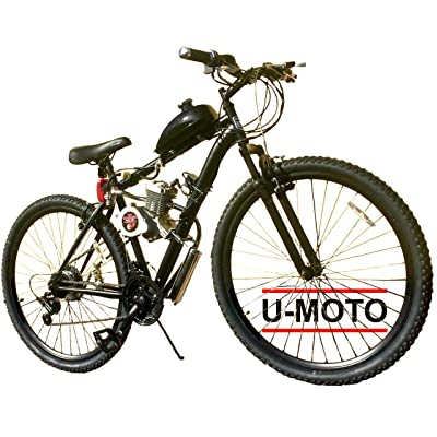"STOMPER 66cc/80cc 2-Stroke Motorized Bike KIT and 29"" MT Bicycle DIY Motorized Bike : Sports & Outdoors"
