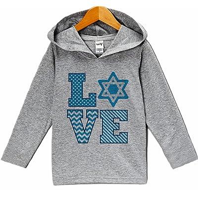 7 ate 9 Apparel Baby's Love Hanukkah Hoodie