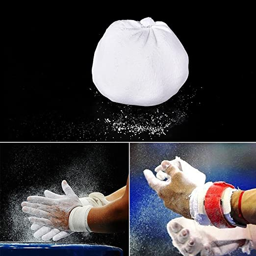 Tookie Balón de Tiza para Gimnasia, Escalada, Balón de Tiza para Gimnasio, Escalada, Gimnasia, Levantamiento de Pesas: Amazon.es: Deportes y aire libre