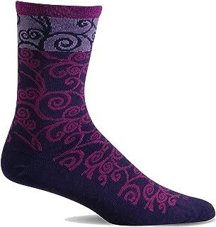 product image for Sockwell Women's Heraldic Swirl Crew Sock