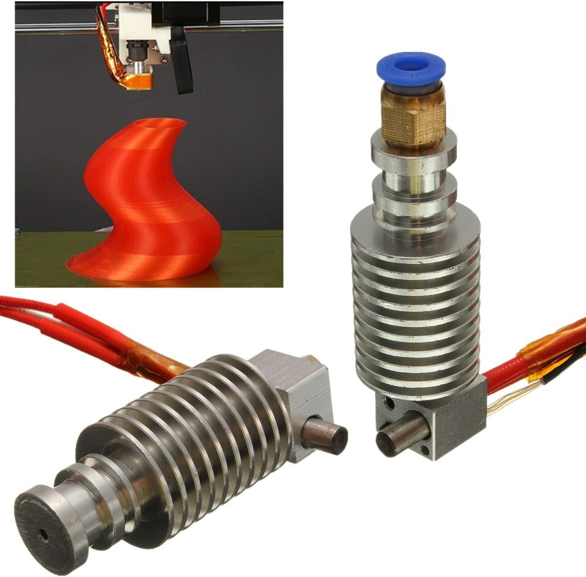 MYAMIA 1.75Mm / 3Mm J-Head Hotend Extruder para Impresora 3D ...
