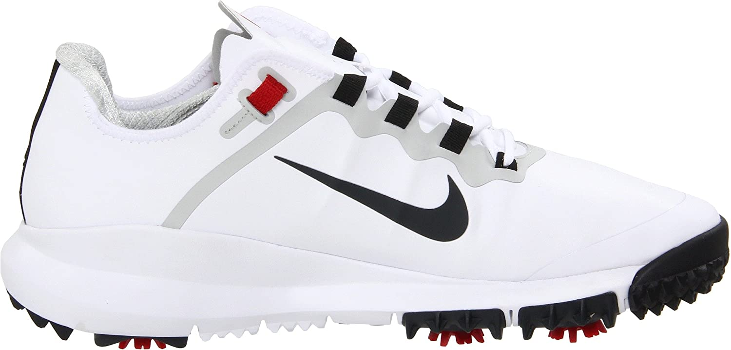 Amazon.com  Nike TW Tiger Woods 2013 Golf Shoes White 532622-100 Mens Size  9 Medium  Sports   Outdoors 25f8bb1a433