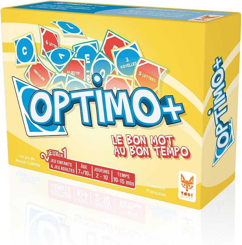 Topi Games Opt-229001 Optimo - Juego de Mesa en francés: Amazon.es: Juguetes y juegos