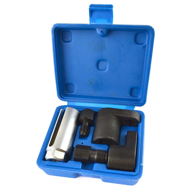 S-XOS5 5pc Oxygen Lambda Sensor Socket Thread Chasers Tool Set Car Garage Kit UK