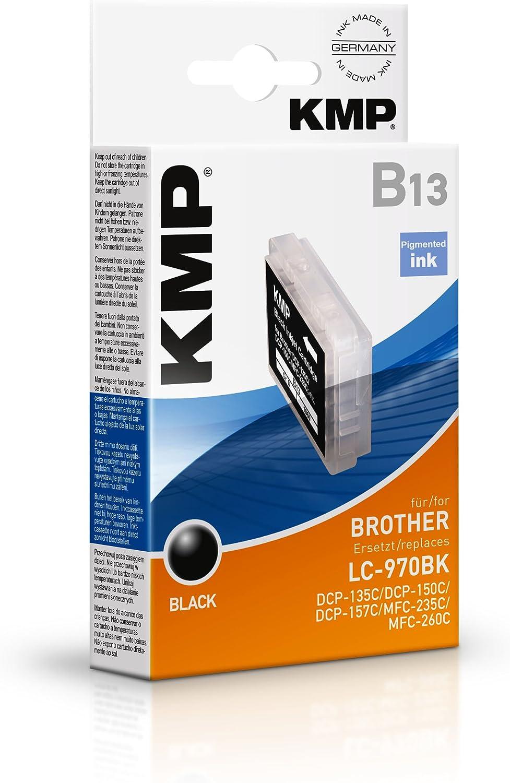 Kmp Tintenkartusche Für Brother Dcp 135c Dcp 150c B13 Black Bürobedarf Schreibwaren