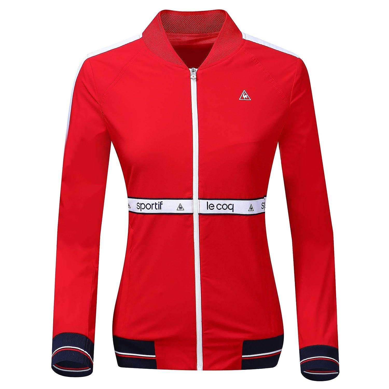 魅力的な (ルコック スポルティフ) LECOQSPORTIF LECOQSPORTIF Women logo band golf jacket 女性のロゴバンドのジャケット golf B07PPBV3V6 (並行輸入品) S レッド B07PPBV3V6, 楽器天国:a655f1e4 --- ballyshannonshow.com