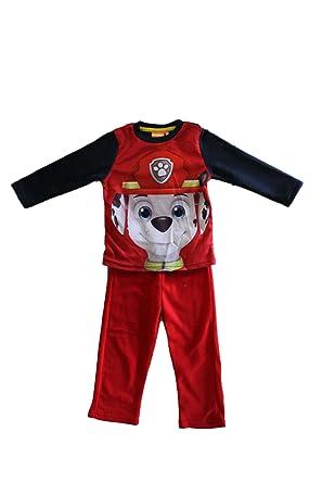 31d29074a0982 Nickelodeon pyjama polaire pat patrouille avec marcus-rouge-garçon (3 ans)