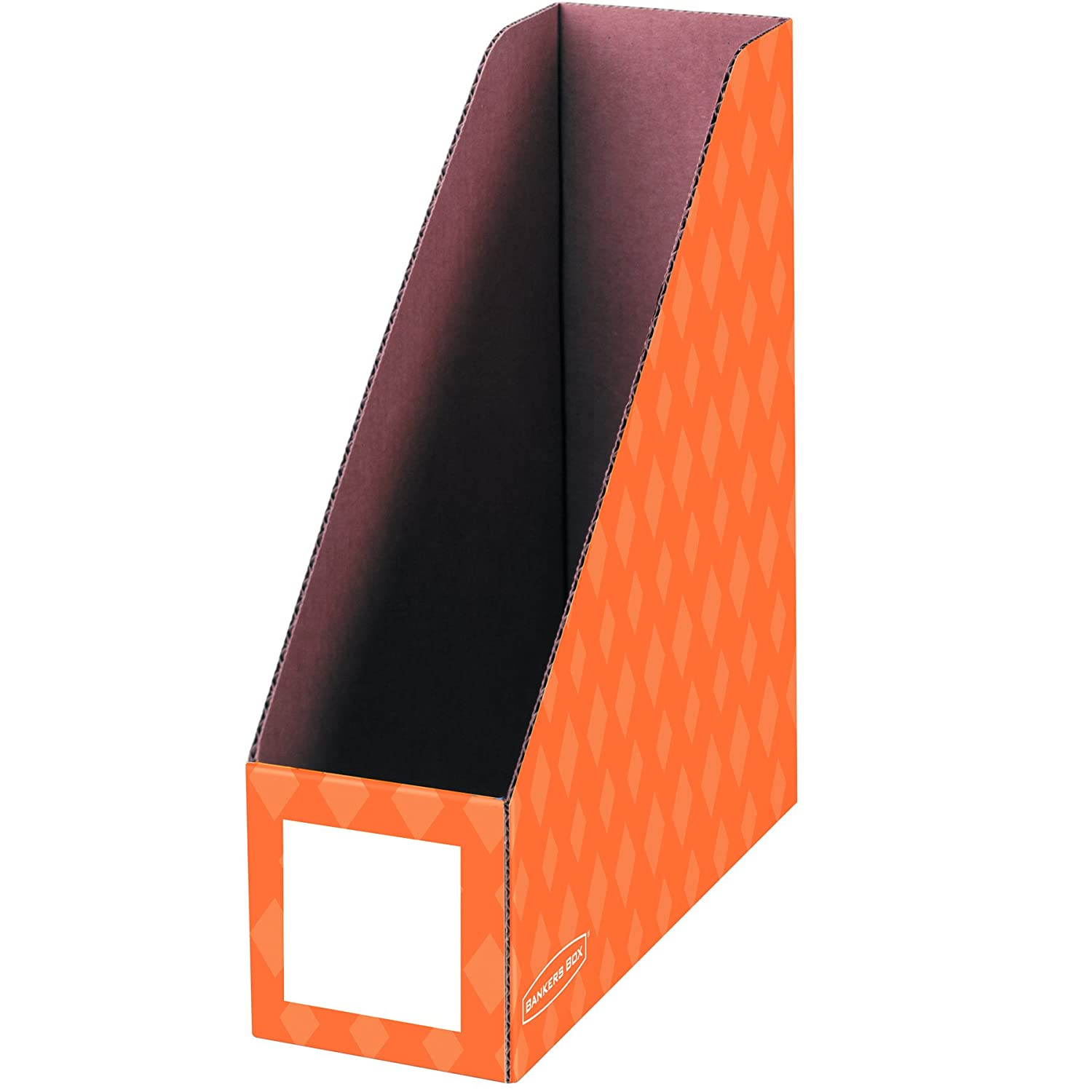 Amazon : Bankers Box Classroom Magazine Fileanizers, 4inch,  Assorted Colors, 6 Pack (3381901) : Magazine Holders : Office Products