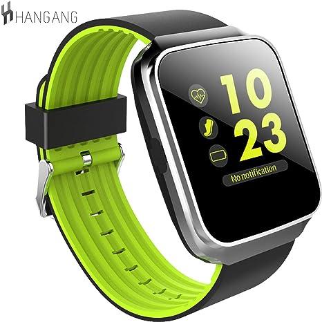 hangang Bluetooth Smart reloj presión arterial Monitor corazón ...