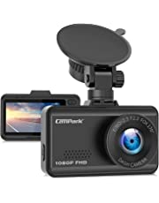 $29 » Campark Dash Cam 1080P FHD Dashboard Camera for Cars with 170° Wide Angle G-Sensor Loop Recording Super Night Vision and 24 Hours Parking Monitor