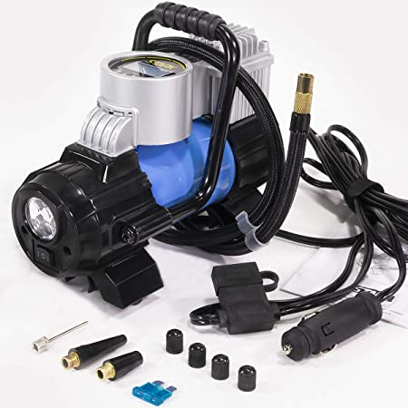 Stark Digital Tire Inflator 12V DC Portable Air Compressor Pump