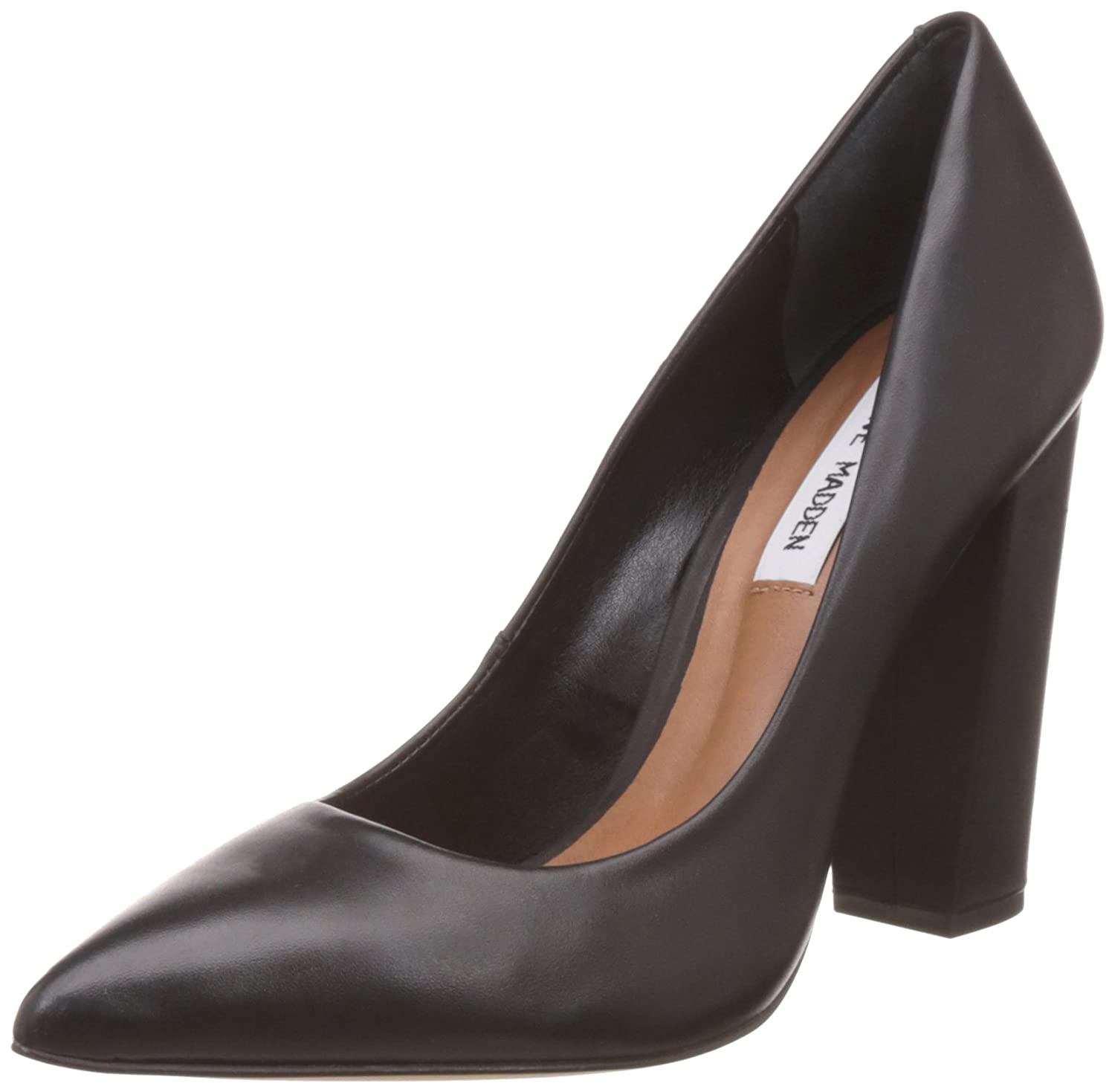 77116831c27 Steve Madden Women s Primpy Leather Pumps  Buy Online at Low Prices in  India - Amazon.in