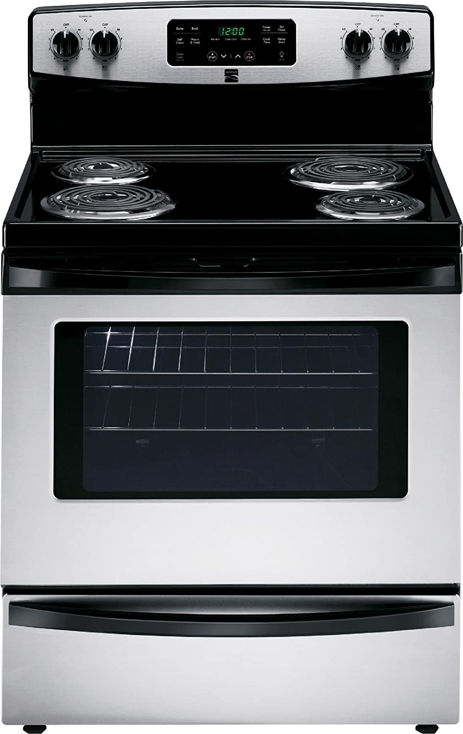 Kenmore 6.4 cu. ft. Front Control Electric Range in Stainless Steel, includes delivery and hookup -2295123
