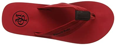 premium selection 4435d 7ff25 Marc O'Polo Beach Sandale 80323691003602, Tongs Homme, Rouge ...