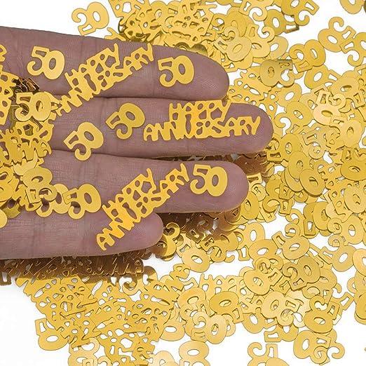 Steerfr Fiesta De Confeti Brillante 50 Aniversario ...