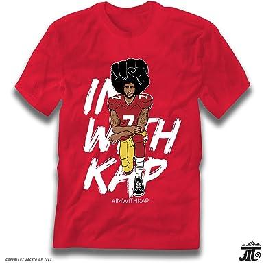 e13e722f0 Amazon.com   ImWithKap Kap Kneeling Premium T-Shirt  Clothing