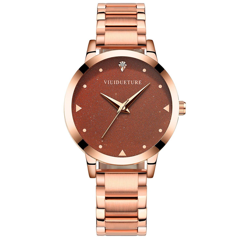 12d864545d9d ... レディース 腕時計 ファッション ブランド ピンクゴールド カジュアル アナログウォッチ 人気 おしゃれ 防水 高級 プレゼント |  レディース腕時計 | 腕時計 通販