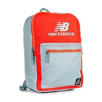 7e1bc67527 New Balance Booker Backpack - Blue / Orange: Amazon.co.uk: Luggage