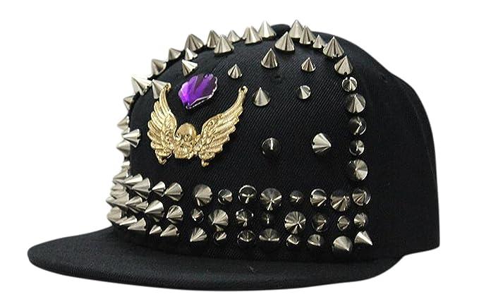 e941ecacc30 ... where can i buy amazon bayto unisex fashion punk street hats hip hop  bboy baseball cap