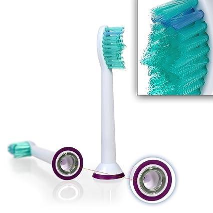 8 Pcs Cabezas de cepillo de dientes (2 x 4) hofoo®. Philips