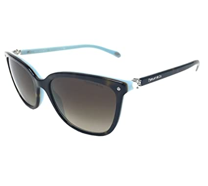 362338ee9d9 Amazon.com  Tiffany   Co. Womens TF4105HB 81343B Havana Brown ...