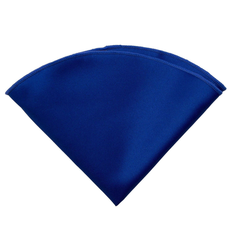 Spring Notion Boys Satin Handkerchief Pocket Round with Border