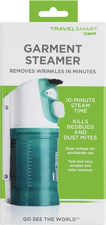 TRAVEL SMART Conair 450 Watt Garment Steamer