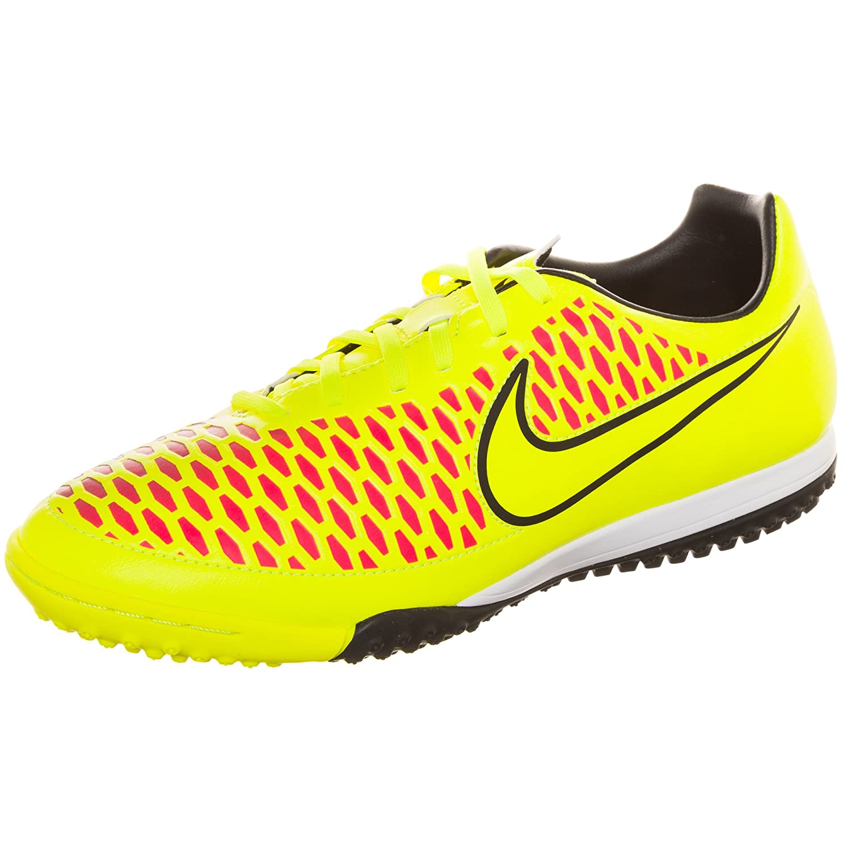 9f1116777b2f4 Nike Magista Onda Soccer Turf Shoes (Volt/Metallic Gold/Black/Hyper Punch)  (7): Amazon.in: Shoes & Handbags
