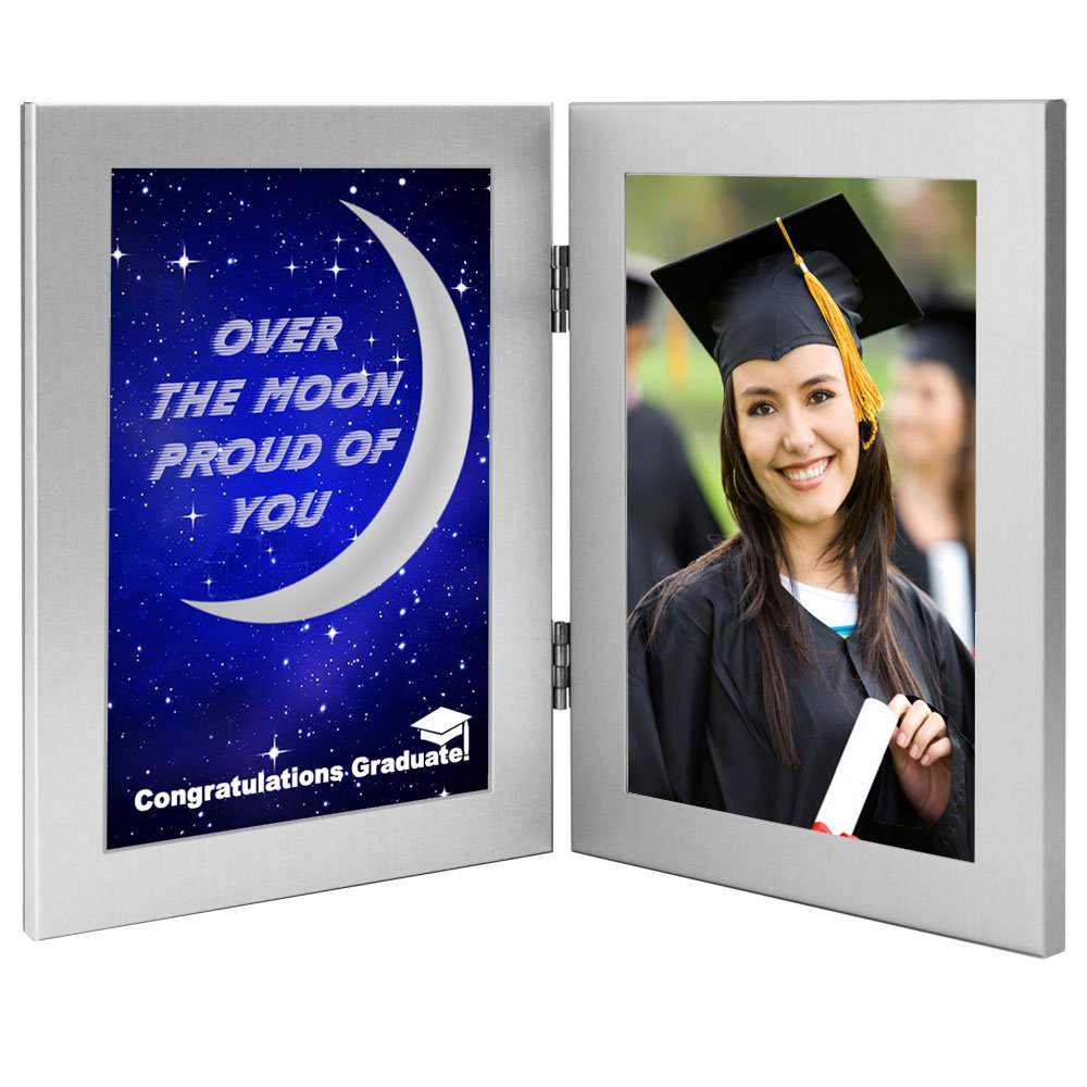 Poetry Gifts Over The Moon Proud You Graduation Gift College High School Graduate - Photo Added After Delivery