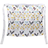 Rural365 Chicken Egg Apron Gathering Egg Apron with Pockets for 12 – Egg Collecting Apron Adult Egg Gathering Apron